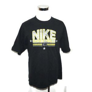 NIKE Men's XL Spell Out Basketball T Shirt Graphic